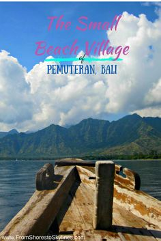 Finding a small and secluded beach in Pemuteran Bali - great for snorkeling, diving and relaxing!