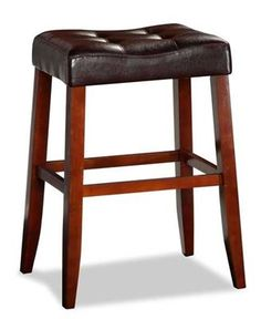 Aaron Portman Brown Barstool with amazing contemporary flair by Crown Mark. Rich cherry finish and elegant design make this the perfect piece. Brown Bar Stools, Counter Height Bar Stools, Farmhouse Stools, Condo Living, Dining Furniture, Contemporary, Room, Cherry Finish, Rum
