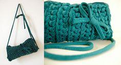 Teal Green   teal green crochet clutch   buubok