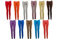 colored jeans for women 8043 | Womens Jeans Tall Skinny Stretch Cute