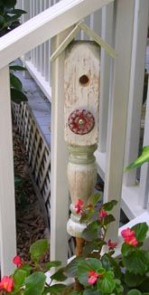 little bird houses!
