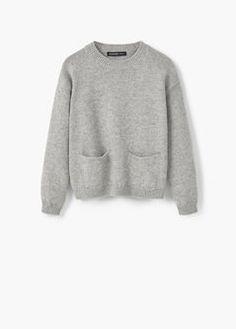 Jersey algodón bolsillos