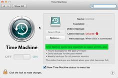 How to Change the Time Machine Backup Schedule