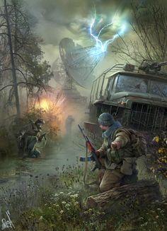 Strike #S.T.A.L.K.E.R. #post-apocalypse