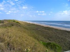The pristine beaches and natural dunes of NE Florida near St. Augustine & Ponte Vedra, Florida