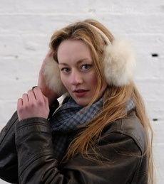 Alpaca Fur Ear Muffs For Adults at Samantha Holmes