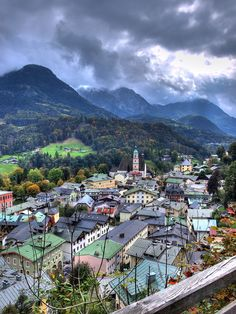 Berchtesgaden | Germany - spent many family holidays here! First went in 1971. One of my 3 favourite places in the world xx