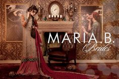Maria B Bridal Wear Collection 2014-2015