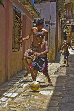 Football Stars, photos children playing - Mallory On Travel