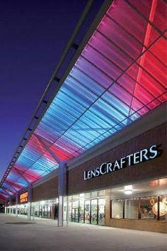 Resultado de imagen para modern strip mall