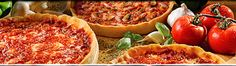 Lou Malnati's: Chicago-style deep dish, from Chicago. The best. They will also ship overnight dry ice; I've ordered. Still best in its city of origin, though.