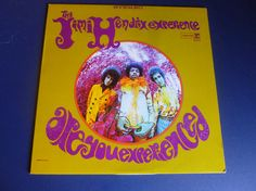 The Jimi Hendrix Experience Are You Experienced  by mdgiftart