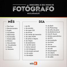 Não tenha apenas o nome de fotógrafo, tenha toda as técnicas também! Acesse os cursos eduK de fotografia: http://scup.it/dpo9