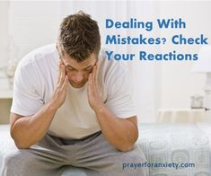 Dealing with mistakes