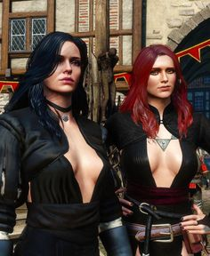 The Witcher Wild Hunt, The Witcher Game, Yennifer Witcher, Triss Merigold Witcher 3, Witcher 3 Yennefer, Fantasy Art Women, Fantasy Girl, Female Characters, Fantasy Characters