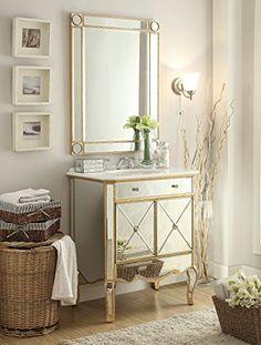 "30"" All Mirrored Adelisa Vanity Gold w/ Matching Mirror M... https://www.amazon.com/dp/B00TG0E4AM/ref=cm_sw_r_pi_dp_x_zvErzbNRQ0FCR"