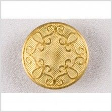 36L/23mm Gold Metal Button
