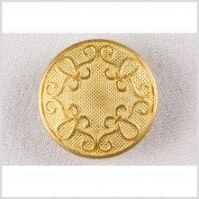 36L/23mm Gold Metal Button