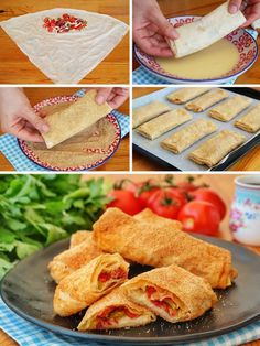 Baked Rag Pie (with video) – Yummy Recipes - Rezepte Ideen Turkish Recipes, Italian Recipes, Ethnic Recipes, Snack Recipes, Breakfast Recipes, Healthy Recipes, Yummy Recipes, Easy Workouts For Beginners, Fish And Meat