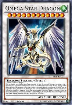 """Double Tuning Stardust Dragon Artwork belongs to Card template belongs to Tuners + """"Stardust Dragon"""" This card gains 300 ATK for each Tuner monster in your Graveyar. Yu Gi Oh, Yugioh Dragon Cards, Yugioh Dragons, Resident Evil, Monster Musume Manga, Custom Yugioh Cards, Cool Pokemon Wallpapers, Yugioh Yami, Yugioh Monsters"""