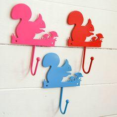 squirrel wall hook by lavish + delight | notonthehighstreet.com