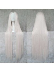 Shop Long Straight 100cm Silver Pink Fate and Zero Alice Cosplay Wigs at OKmarket.com