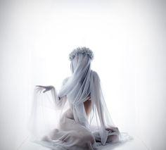 NO by Melania Brescia, via Behance #photography #white #veil