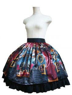 Atelier Pierrot Dark Castle Skirt