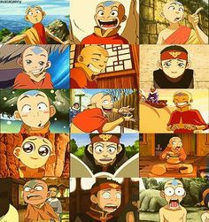 Aang character of the week avatar the last airbender July 21-27