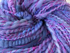 Novelty Plying - Some great tips on how to spin your own yarn with some unusual…