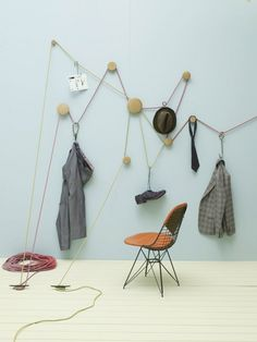 Muuto Dots + rope (Studio Pepe and the art of styling Design Set, Store Design, House Design, Home Interior, Interior Styling, Interior And Exterior, Studio Interior, Vitrine Design, Sweet Home