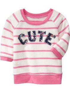 Applique Sweatshirts for Baby