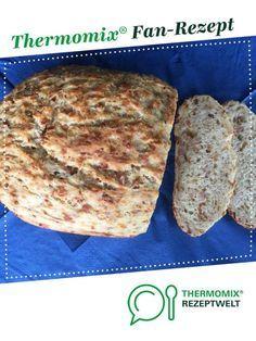 Blitzschnelles Zwiebel-Käse-Schinken-Brot von Hannebue. Ein Thermomix ® Rezept aus der Kategorie Brot & Brötchen auf www.rezeptwelt.de, der Thermomix ® Community.
