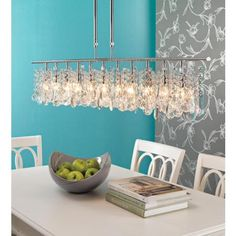 """Luminous Collection 48"""" Wide Crystal Chandelier  By Lamps Plus"""