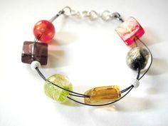Autumn flavour bracelet by clode83 on Etsy, €18,00