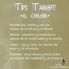 """Con este Tip inauguramos la sección """"Tips para el Tarot"""". Vi la idea en una web americana y la he copiado porque me parece fantástica par..."""