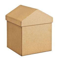 VBS Boîte en papier mâché « Maison » - Loisirs créatifs à petits prix VBS Hobby Service