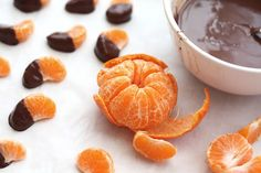 Barefeet In The Kitchen: Chocolate Covered Clementines & Homemade Magic Shell