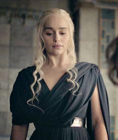 Image result for daenerys targaryen 6x10 black dress