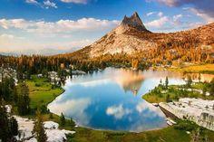 Pico Catedral en el Parque Yosemite