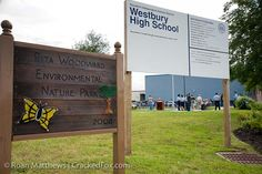 Rita Woodward Environmental nature park at Westbury High School. Check out more photos at http://www.braysoaksmd.org