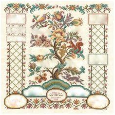 Mistledoe: The Family Tree Cross Stitch