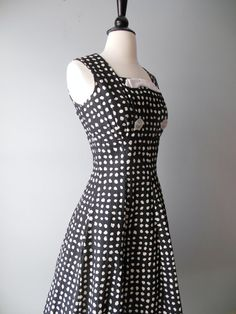 1950s dress / 50's Rockabilly Pin Up / Vintage by RockThatFrock, $101.50