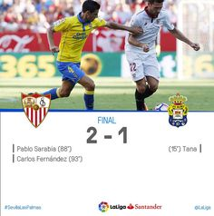 La Liga (Jornada 3): Sevilla FC 2 - UD Las Palmas 1 | Football Manager All Star