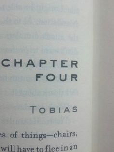 I'm on the third book now! The chapters keeps switching between Tobias' and Tris' point of view- IT'S SO COOL!!!!!!!