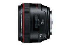 Canon EF 50mm f/1.2L USM  Standard Telephoto Lens - $1499 USD.