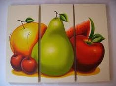 Watercolour Painting, Diy Painting, Simple Acrylic Paintings, Pencil Art Drawings, Fruit And Veg, Food Coloring, Flower Art, Decoupage, Wall Art