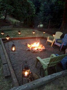 Fire pit backyard - 39 Best DIY Outdoor Fire Pit for Upgrade Yard Fire Pit Backyard, Backyard Patio, Backyard Landscaping, Fire Pit Landscaping Ideas, Outdoor Fire Pits, Diy Firepit Ideas, Backyard Seating, Backyard Privacy, Patio Fire Pits
