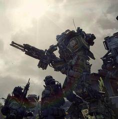 cosmicwolfstorm:  Titanfall