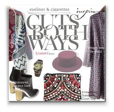 """""""ethnic.style"""" by wannanna ❤ liked on Polyvore featuring мода, Garance Doré и Boohoo"""